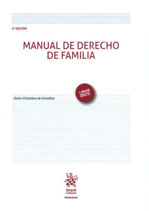 MANUAL DE DERECHO DE FAMILIA. TERCERA EDICIÓN. +EBOOK GRATIS