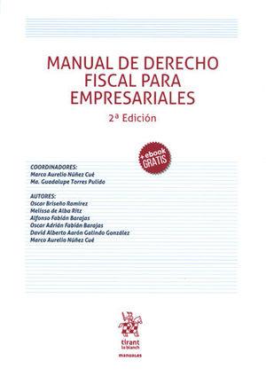 MANUAL DE DERECHO FISCAL PARA EMPRESARIALES