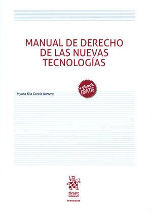 MANUAL DE DERECHO DE LAS NUEVAS TECNOLOGÍAS + EBOOK GRATIS