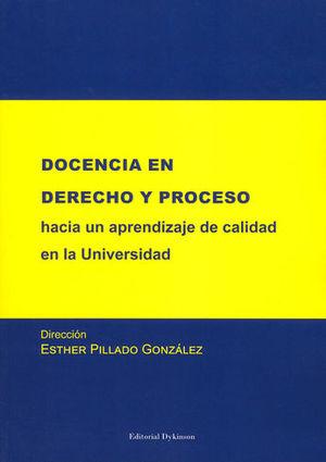DOCENCIA EN DERECHO Y PROCESO