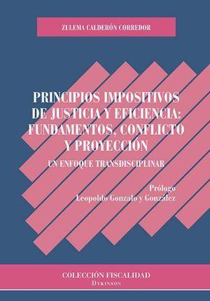 PRINCIPIOS IMPOSITIVOS DE JUSTICIA Y EFICIENCIA: FUNDAMENTOS, CONFLICTO Y PROYEC