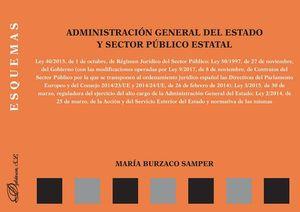 ADMINISTRACIÓN GENERAL DEL ESTADO Y SECTOR PÚBLICO ESTATAL