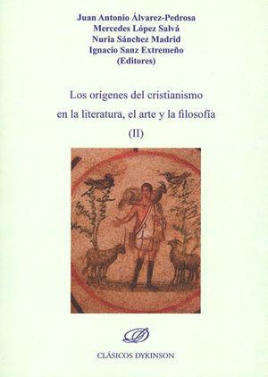 ORÍGENES DEL CRISTIANISMO EN LA LITERATURA, EL ARTE Y LA FILOSOFÍA (II), LOS