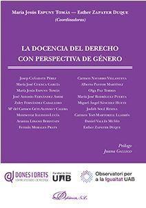 DOCENCIA DEL DERECHO CON PERSPECTIVA DE GÉNERO, LA