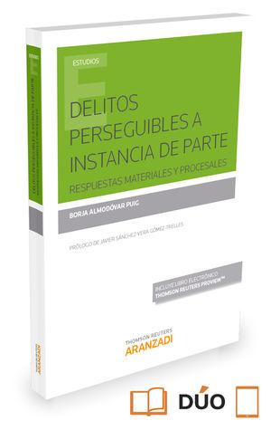 DELITOS PERSEGUIBLES A INSTANCIA DE PARTE (PAPEL + E-BOOK)