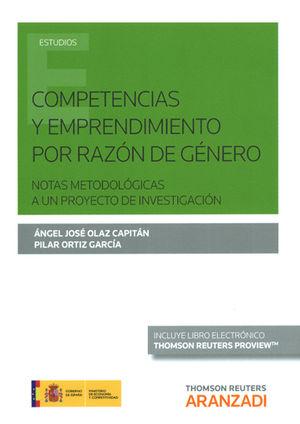 COMPETENCIAS Y EMPRENDIMIENTO POR RAZÓN DE GÉNERO (PAPEL + E-BOOK)