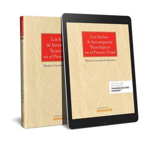 MEDIOS DE INVESTIGACIÓN TECNOLÓGICOS EN EL PROCESO PENAL, LOS (PAPEL + E-BOOK)