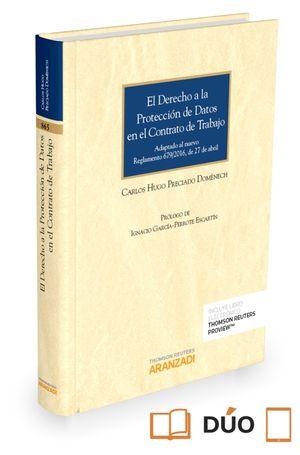 EL DERECHO A LA PROTECCIÓN DE DATOS EN EL CONTRATO DE TRABAJO (PAPEL + E-BOOK)