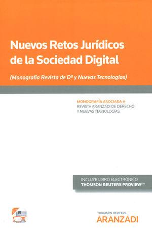 NUEVOS RETOS JURÍDICOS DE LA SOCIEDAD DIGITAL (PAPEL + E-BOOK)