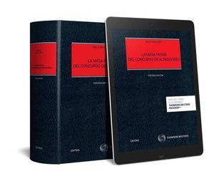 MASA PASIVA DEL CONCURSO DE ACREEDORES (PAPEL + E-BOOK), LA