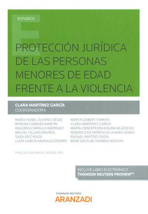PROTECCIÓN JURÍDICA DE LAS PERSONAS MENORES DE EDAD FRENTE A LA VIOLENCIA (PAPEL