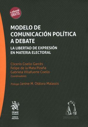 MODELO DE COMUNICACION POLITICA A DEBATE