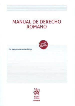 MANUAL DE DERECHO ROMANO + EBOOK GRATIS