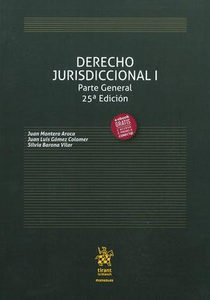 DERECHO JURISDICCIONAL I. PARTE GENERAL (2017)