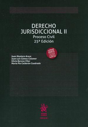 DERECHO JURISDICCIONAL II PROCESO CIVIL (2017)