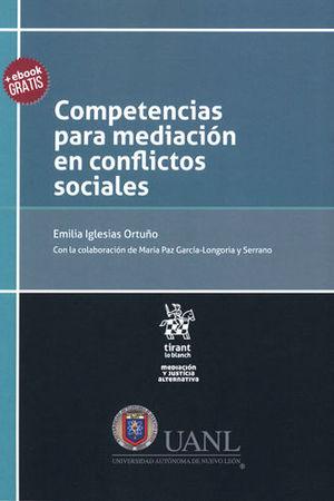 COMPETENCIAS PARA MEDIACIÓN EN CONFLICTOS SOCIALES
