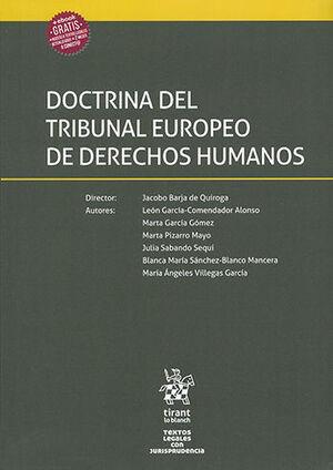 DOCTRINA DEL TRIBUNAL EUROPEO DE DERECHOS HUMANOS