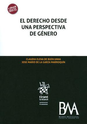 DERECHO DESDE UNA PERSPECTIVA DE GÉNERO, EL