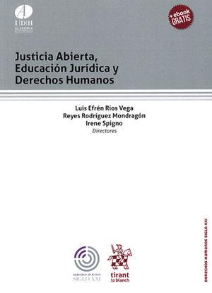 JUSTICIA ABIERTA, EDUCACIÓN JURÍDICA Y DERECHOS HUMANOS