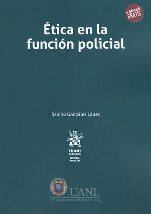 ÉTICA EN LA FUNCIÓN POLICIAL + EBOOK GRATIS