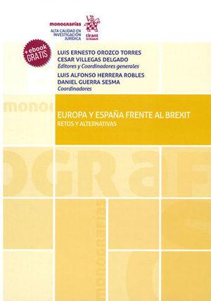 EUROPA Y ESPAÑA FRENTE AL BREXIT