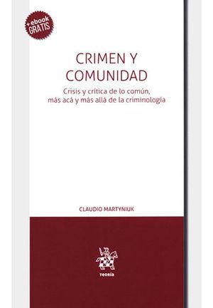 CRIMEN Y COMUNIDAD