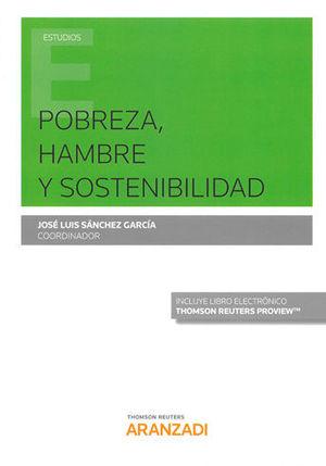 POBREZA, HAMBRE Y SOSTENIBILIDAD (PAPEL + E-BOOK)