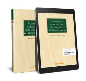 SIMULACIÓN DE LOS CONTRATOS EN LA JURISPRUDENCIA DEL TRIBUNAL SUPREMO (PAPEL), LA