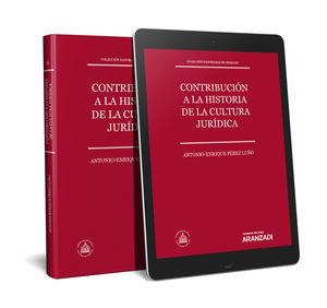 CONTRIBUCIÓN A LA HISTORIA DE LA CULTURA JURÍDICA (PAPEL + E-BOOK)