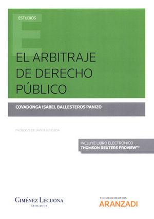 ARBITRAJE DE DERECHO PÚBLICO, EL (PAPEL + E-BOOK)