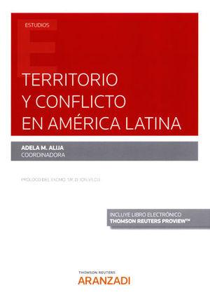 TERRITORIO Y CONFLICTO EN AMÉRICA LATINA (PAPEL + E-BOOK)
