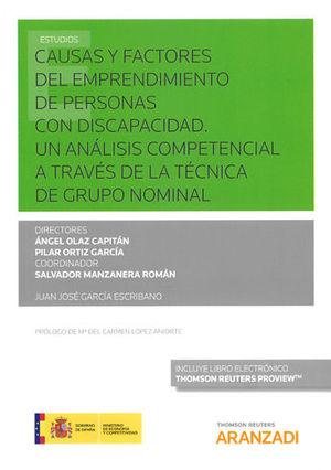 CAUSAS Y FACTORES DEL EMPRENDIMIENTO DE PERSONAS CON DISCAPACIDAD. UN ANÁLISIS C