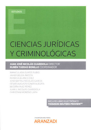 CIENCIAS JURÍDICAS Y CRIMINOLÓGICAS (PAPEL + E-BOOK)