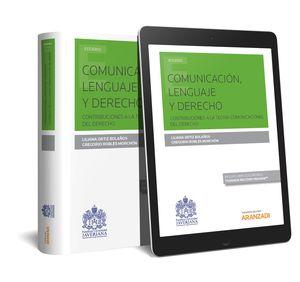 COMUNICACIÓN, LENGUAJE Y DERECHO  (PAPEL + E-BOOK)