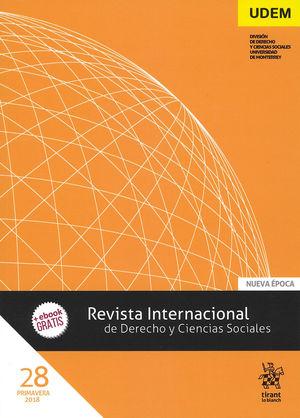 REVISTA INTERNACIONAL DE DERECHO Y CIENCIAS SOCIALES. NÚMERO 28. PRIMAVERA 2018