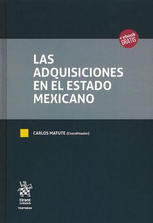 ADQUISICIONES EN EL ESTADO MEXICANO, LAS