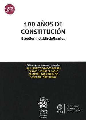 100 AÑOS DE CONSTITUCIÓN