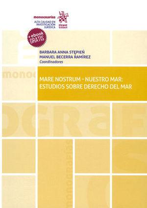 MARE NOSTRUM-NUESTRO MAR: ESTUDIOS SOBRE DERECHO DEL MAR