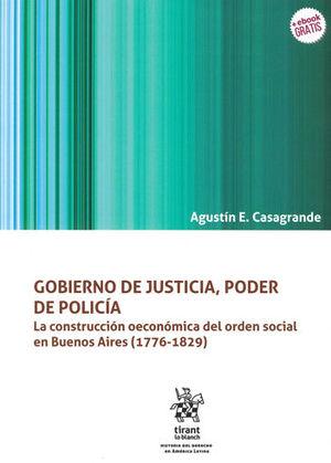 GOBIERNO DE JUSTICIA, PODER DE POLÍCIA