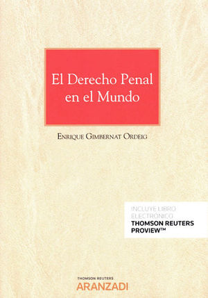 DERECHO PENAL EN EL MUNDO, EL (PAPEL + E-BOOK)