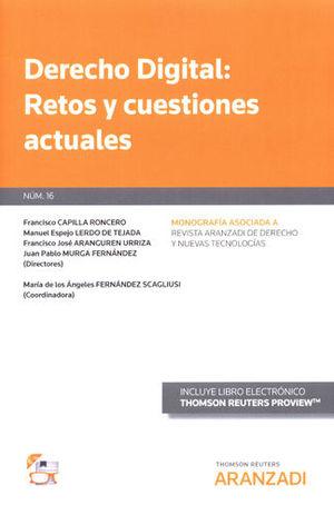 DERECHO DIGITAL: RETOS Y CUESTIONES ACTUALES (PAPEL + E-BOOK)