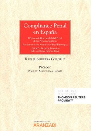 COMPLIANCE PENAL EN ESPAÑA (PAPEL + E-BOOK)