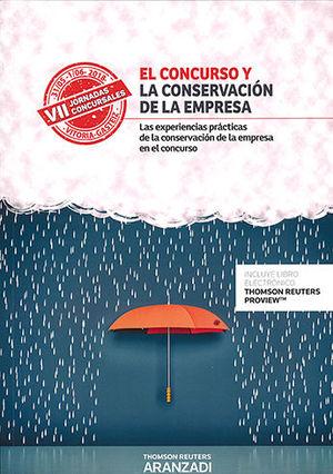 CONCURSO Y LA CONSERVACIÓN DE LA EMPRESA, EL (PAPEL + E-BOOK)