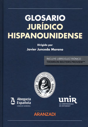 GLOSARIO JURÍDICO HISPANOUNIDENSE (PAPEL + E-BOOK)