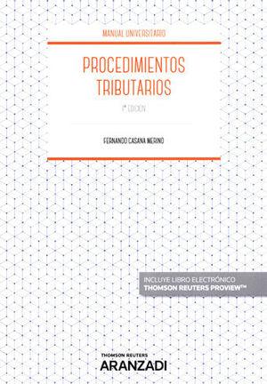 PROCEDIMIENTOS TRIBUTARIOS (PAPEL + E-BOOK)