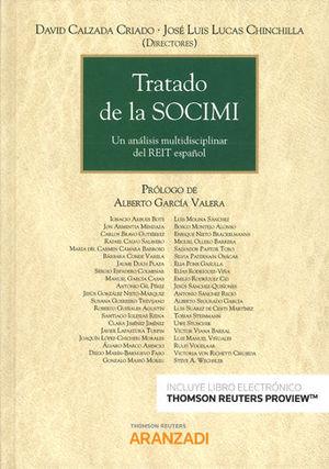 TRATADO DE LA SOCIMI (PAPEL + E-BOOK)