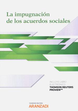 IMPUGNACIÓN DE LOS ACUERDOS SOCIALES, LA (PAPEL + E-BOOK)