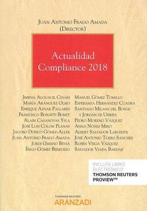 ACTUALIDAD COMPLIANCE 2018 (PAPEL + E-BOOK)