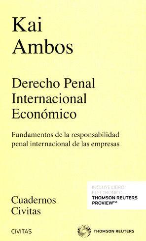 DERECHO PENAL INTERNACIONAL  ECONÓMICO (PAPEL + E-BOOK)