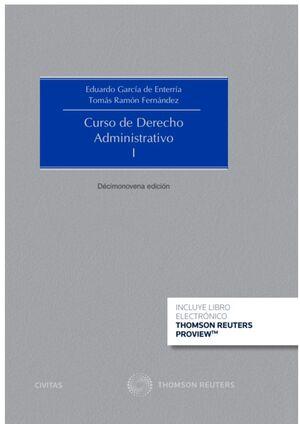 CURSO DE DERECHO ADMINISTRATIVO TOMO I - EDICIÓN # 19 Y TOMO II EDICIÓN # 16 2020